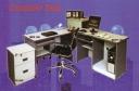 Meja Kantor Daiko MCD 120 abu-abu
