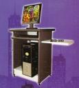 Meja Computer Daiko MCD 060 abu-abu