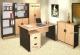 Meja kantor Daiko MDP 150 Beech